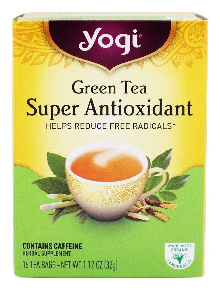 Yogi Tea Green Tea Super Antioxidant, Herbal Supplement