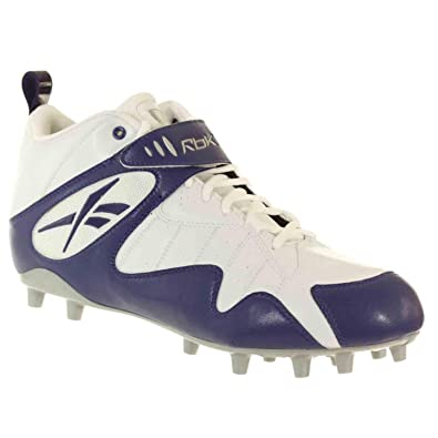ae5ccba57 Image Unavailable. Image not available for. Color  Reebok Pro All Out ONE  MID MP Mens Football Shoes Dark Royal White ...