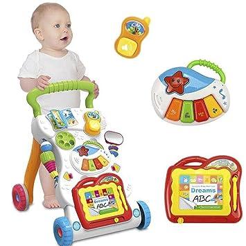 Bebé del bebé del Caminante del bebé de la música Primer Paso del ...