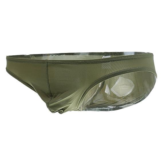 Gazechimp Ropa Interior Tangas Boxer para Hombres Chicos Cómodo de Usar Llevar - Verde, M