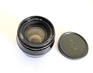 Jupiter-8 50mm F2 (Black Body) Vintage Screw Mount Lens  A