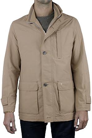 Royaume-Uni mieux grande vente de liquidation Pierre Cardin Parka Homme Beige: Amazon.fr: Vêtements et ...