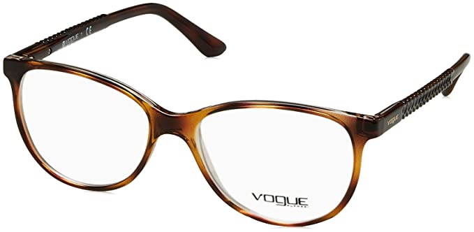 d436cf4713f Image Unavailable. Image not available for. Color  Vogue VO5030 Eyeglass  Frames 1916-53 - Top Havana Transparent