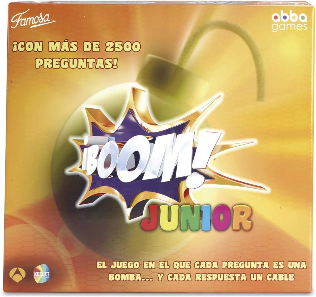 Boom Famosa Junior, Juego de Mesa (700013150): Amazon.es: Juguetes ...