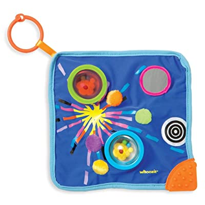 Manhattan Toy Whoozit Space Blankie Sensory Development Toy: Toys & Games