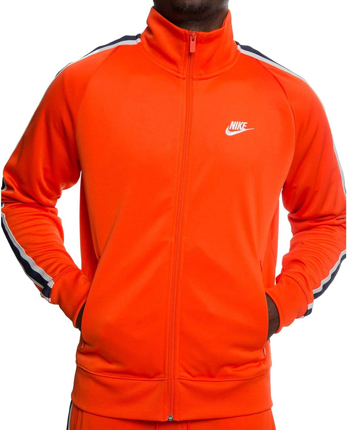 Nike Mens Fitness Workout Track Jacket