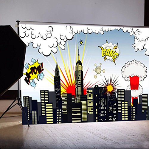 WensLTD Clearance! Vinyl Wood Wall Floor Photography Studio Prop Backdrop Background 3x5FT (F-1)