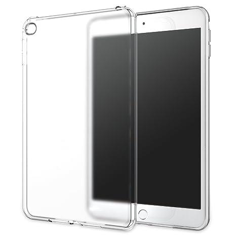 MoKo Funda para iPad Mini 4 - Premium Material Suave TPU Transparente Flexible Trasera de Goma Esmerilada Parachoques para Apple iPad Mini 4 7.9 ...