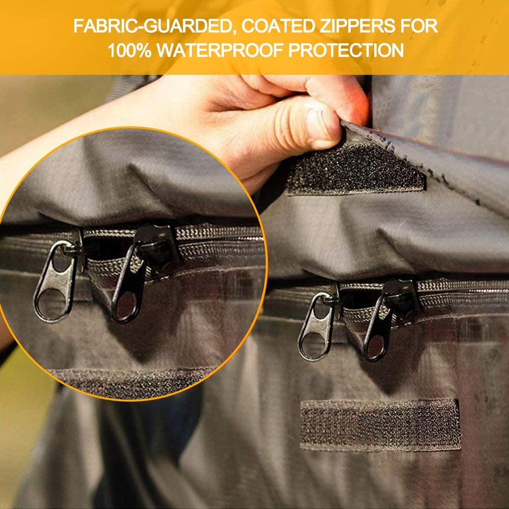 Roof Top Car Bag 100/% Waterproof Excellent Quality Car Top Carrier Bag Fits All Cars with//Without Rack Conthfut Rooftop Cargo Bag - Coated Zippers /& Heavy Duty Roof Bag 15 Cubic Feet