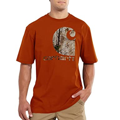 34c1c19c33 Image Unavailable. Image not available for. Color: Carhartt's Men's  Workwear Graphic Camo C SS T Shirt ...