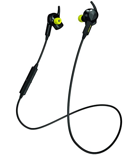 Jabra Sport Pulse Special Edition Wireless Bluetooth Stereo Earbuds With Built In Heart Rate Monitor, Black by Jabra