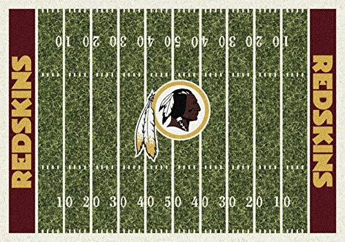 - Washington Redskins NFL Team Home Field Area Rug by Milliken, 5'4
