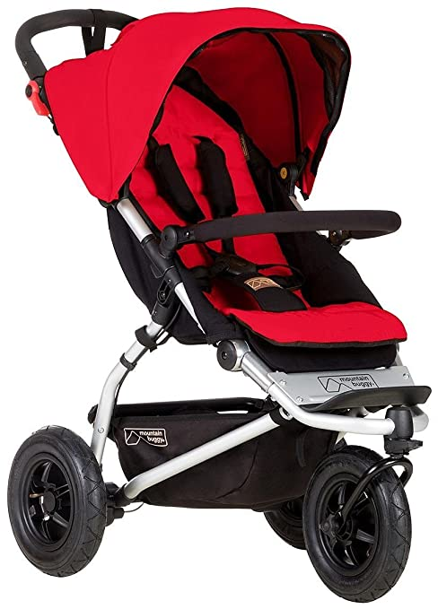 Mountain Buggy Swift Compact Stroller, Berry by Mountain Buggy