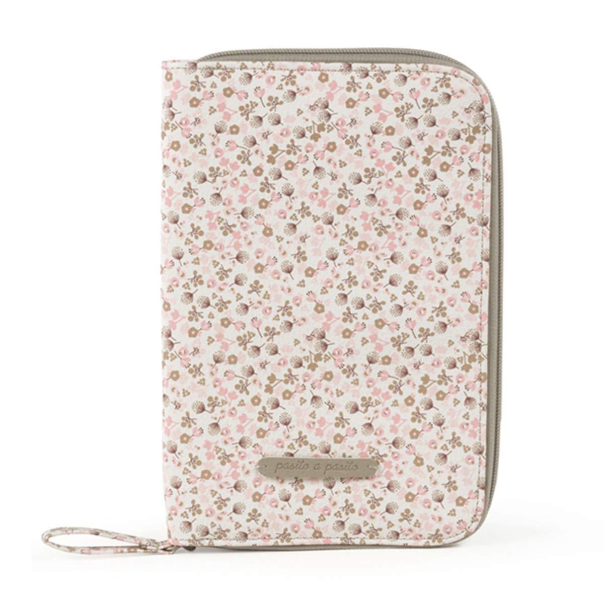Pasito a pasito Bouquet color rosa Libro de nacimiento ni/ñas
