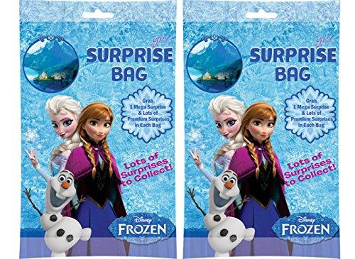 Frozen Surprise Bag Surprise Gift Inside (2 Bags ) Easter Kinder Fun Joy Kids / Best Return Gift for Kids (Chocolate Frozen Surprise Eggs)