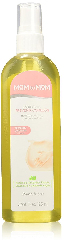 Amazon.com : Mom to Mom Crema Aceite Corporal Humectante (todo el embarazo) : Beauty