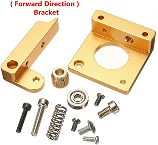 MK8 extruder base block Aluminum Frame Bracket Block DIY fr Prusa I3 3D Printer