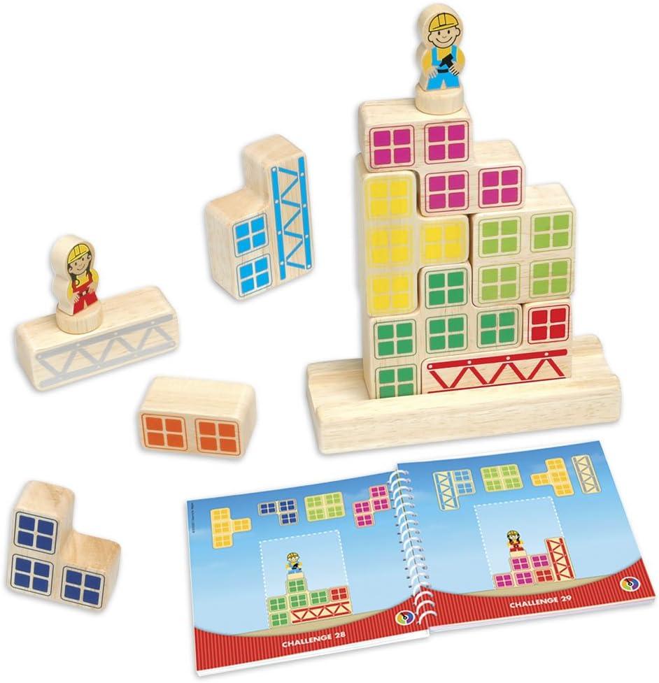 Smart - Bricks, Juego de ingenio de Madera con retos progresivos (SG016): Amazon.es: Juguetes y juegos
