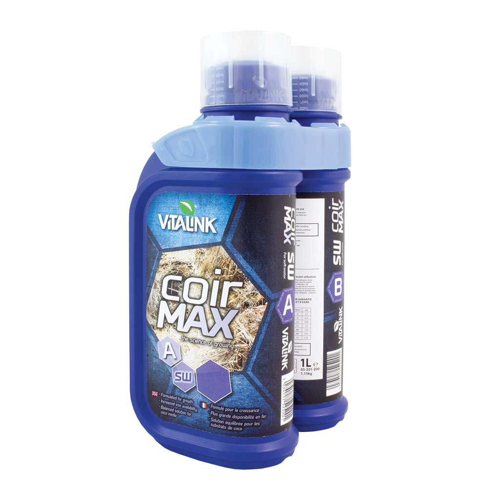 VitaLink pack of 2 Litres Coir Max Soft Water - Blue 05-201-200