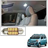 Vheelocityin 12 LED Roof Light Car Dome Light Reading Light For Maruti Suzuki Wagon R 1.0 Old