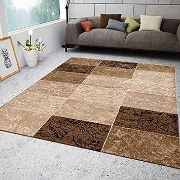 Wohnzimmer Muster | Vimoda Teppich Wohnzimmer Kurzflor Modern Meliert Kariert Marmor
