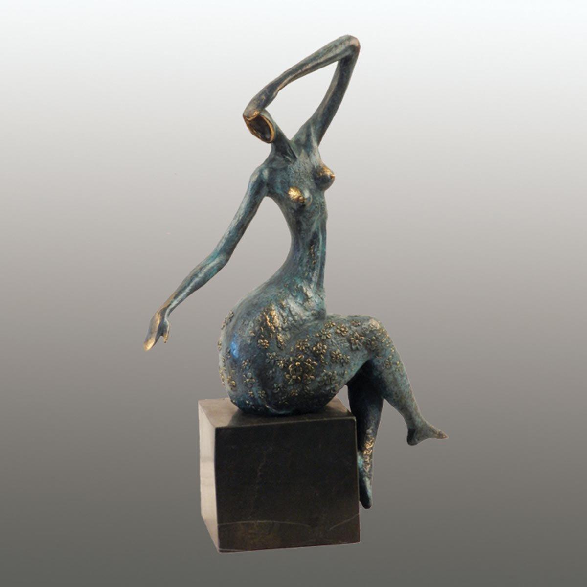 Amazon Com Art Deco Sculpture Modern Art Bronze Abstract