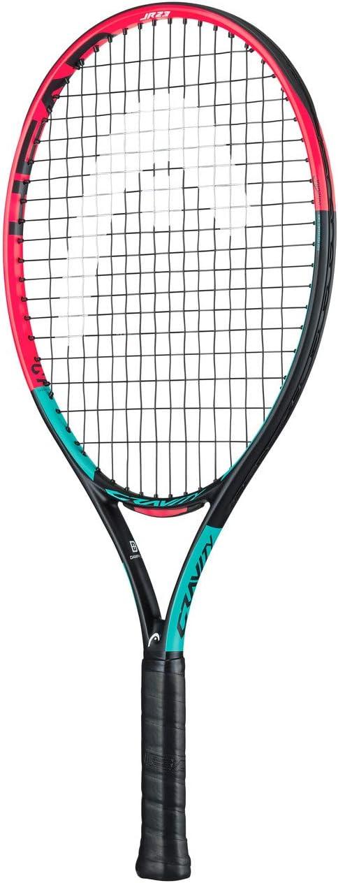 Head Gravity 23 - Raqueta de Tenis Unisex (6-8 años), Multicolor
