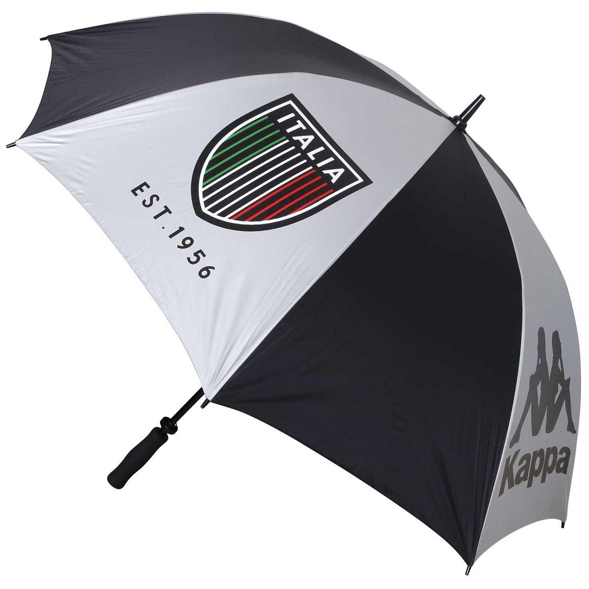 カッパ Kappa 傘 晴雨兼用傘 KG618AZ33 B01D9KHJQ0ブラック