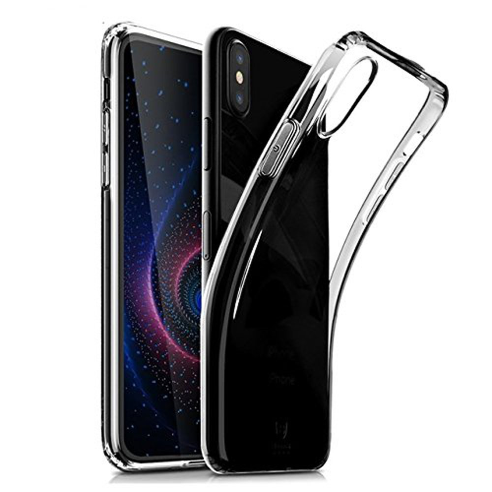 Huawei P20 Pro Hülle, QULLOO Hülle aus weichem Silikon Gel Anti-Scratch TPU Ultra Slim dünne Schutzhülle - Transparent