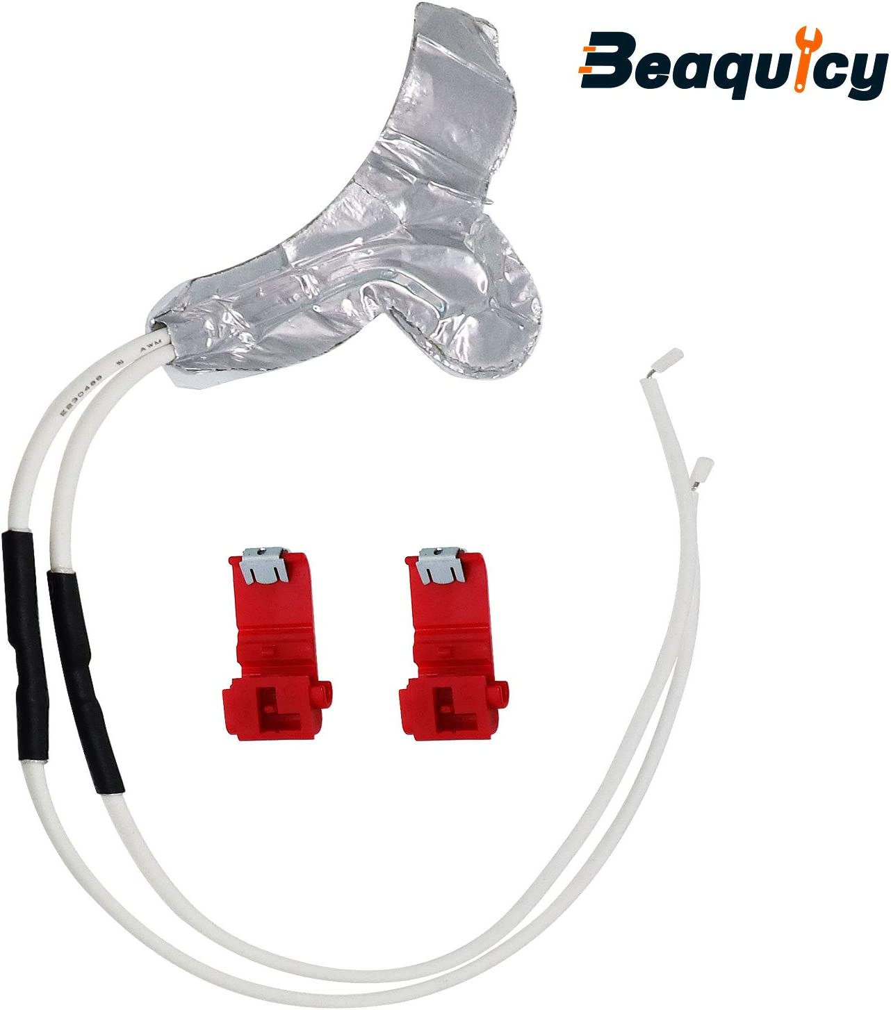 Beaquicy WR49X10173 Dispenser Tube Heater Kit - Replacement for General Electric GE Refrigerator