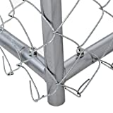 Chain Link Dog Kennel - Lucky Dog Outdoor Heavy