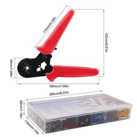 Best Tool Set Self-adjustable Crimping Pliers Kit + Crimping ...