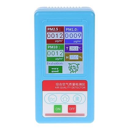 OTGO PM1.0 PM 2.5 PM10 - Analizador de Gas (9 Tipos de detectores