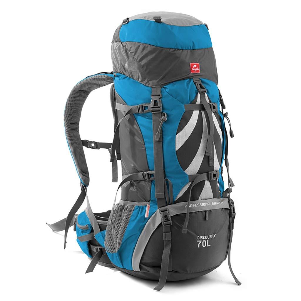 ハイキングバッグ アウトドア登山バッグ大容量バックパック男性と女性旅行バックパックキャンプ70 + 5Lキャンプバックパック ハイキングバックパック (Color : C, Size : 70+5L-33*27*75cm) C 70+5L-33*27*75cm