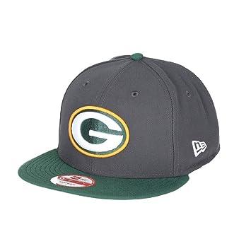 sale retailer 90785 e408e New Era Green Bay Packers 2-Tone Grey 9FIFTY Snapback NFL Cap S M