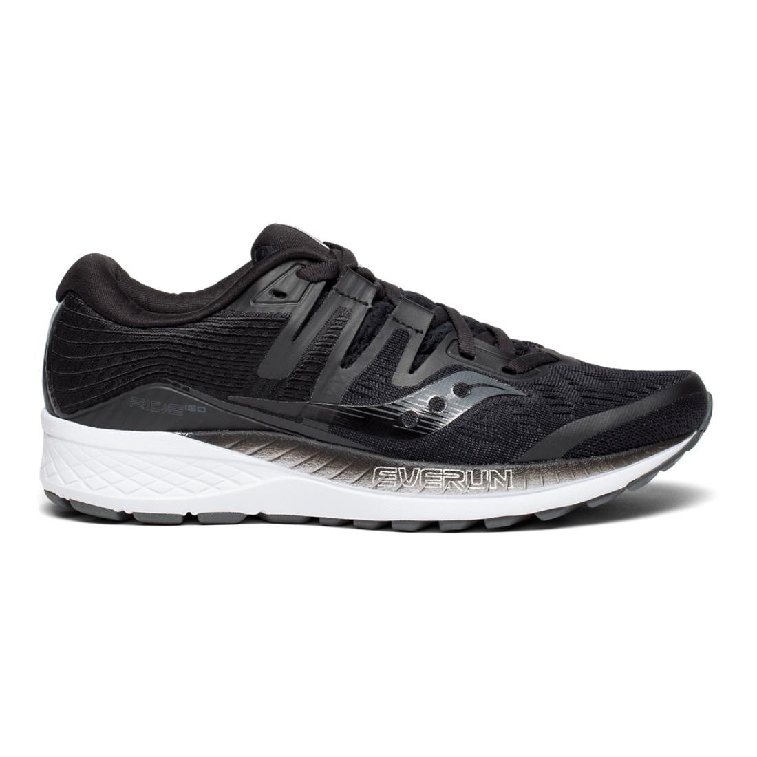 Saucony Women's Ride ISO D Running Shoe B078PPWNKH 11.5 D ISO US|Black 49d3f9