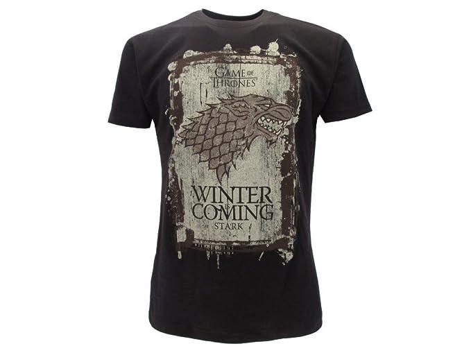 T Shirt Winter Is Coming Haus Stark Von Tv Show Game Of Thrones