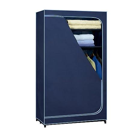 Rayen Armario ropero L, 180x100x50 cm, Azul, 180 x 100 x 50 cm