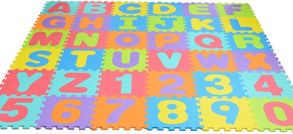 dewdropy Puzzle Mat, 36PCS EVA Puzzle para Niños Estera De ...