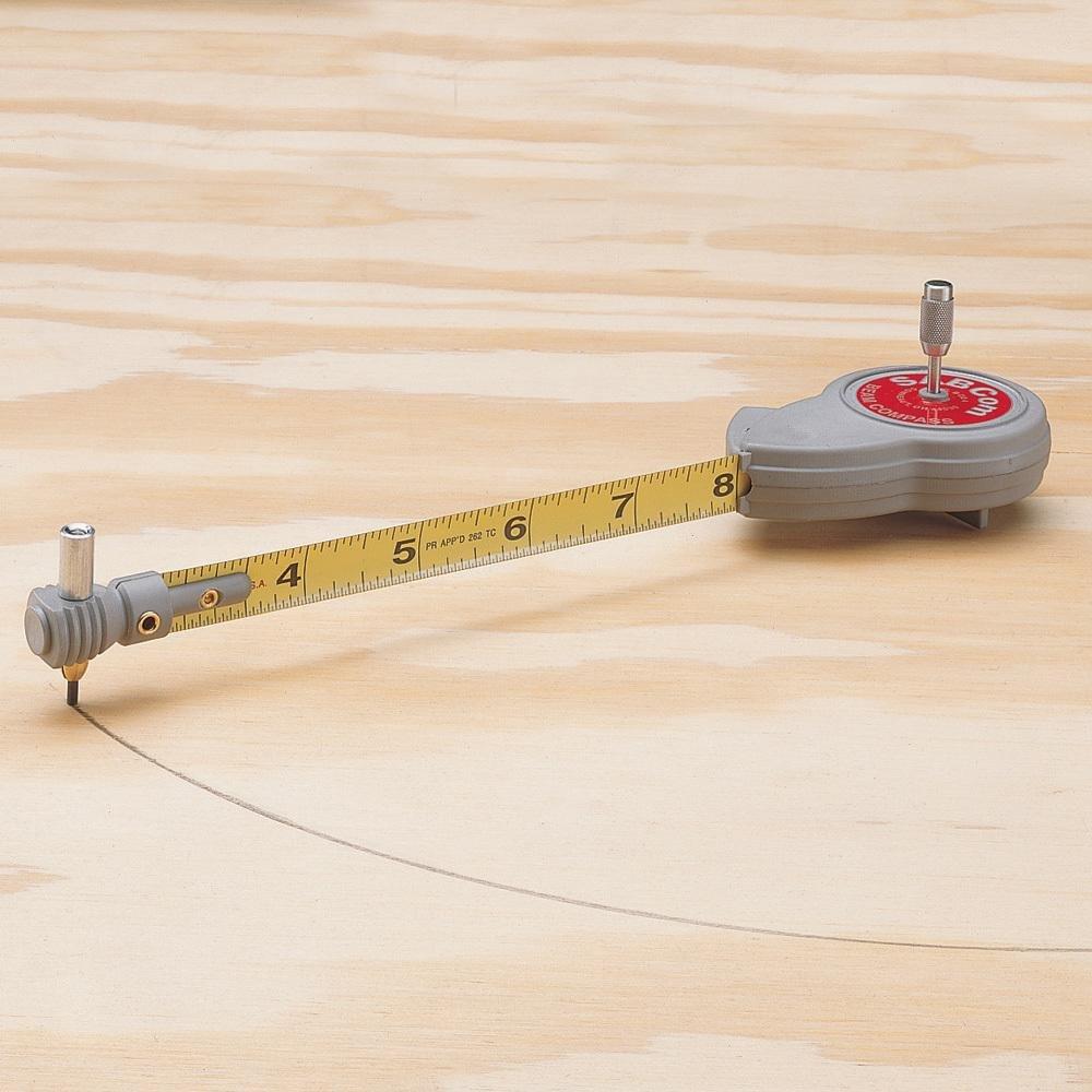 Rotape tape compass