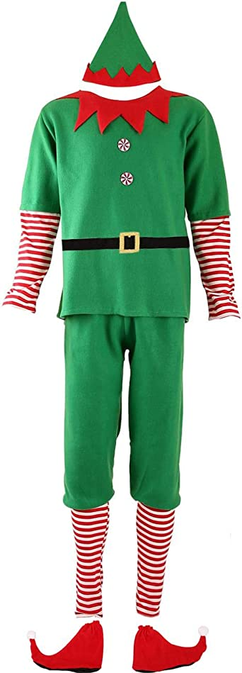 Ainiel Elf Costume parent child dress Hat Elf Costume for Girls Boys