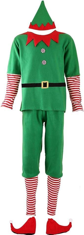 Ainiel Elf Costume parent child dress Hat Elf Costume for Girls Boys