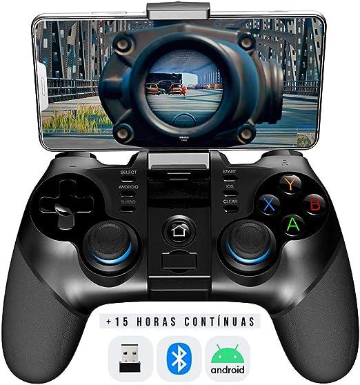 BINDEN Control Inalámbrico PG-9156 Compatible para Smartphone Android, Tablet, Emulador, PC Windows, Función Turbo, 15 Horas de Juego: Amazon.com.mx: Videojuegos