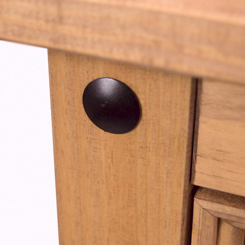 Home Discount Corona 3 Door 3 Drawer Sideboard