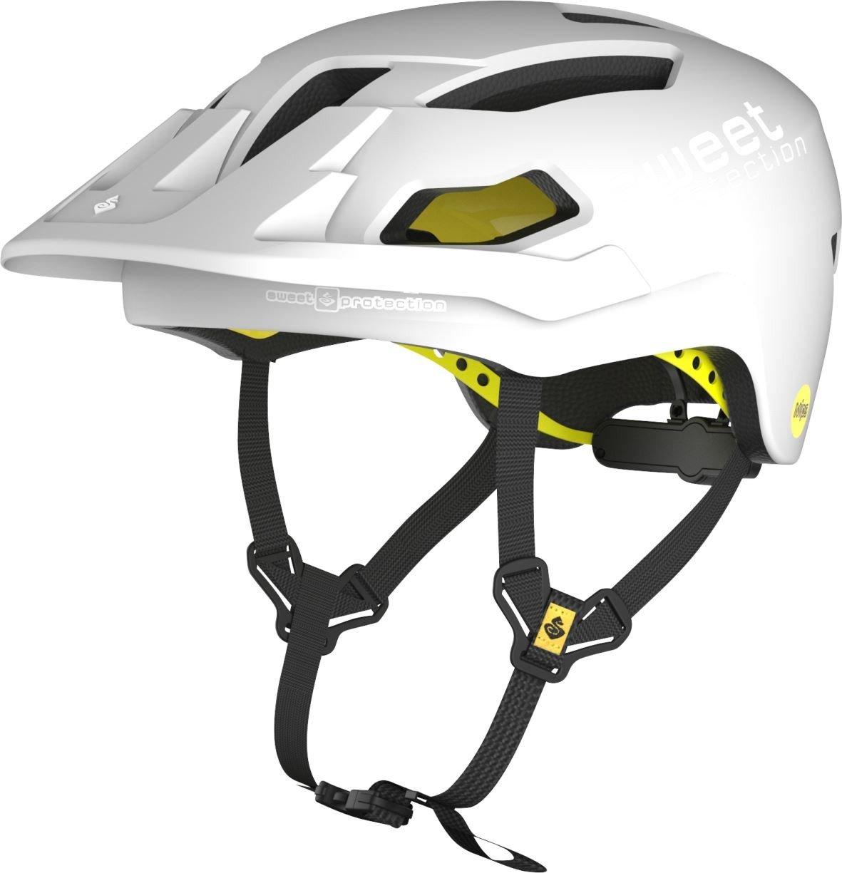 Sweet Protection Dissenter MIPS Bike Helmet-MatteWhit-M/L