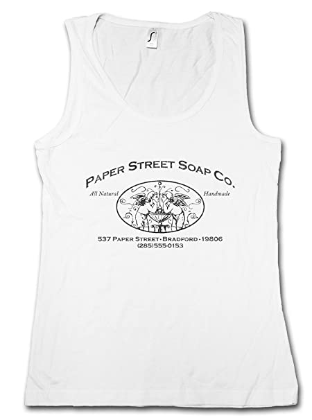 Mangas Top Gym Camiseta Sin Soap Women Street CoMujer Paper Tank xoQderCBW