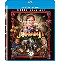 Deals on Jumanji Remastered Blu-ray + Digital