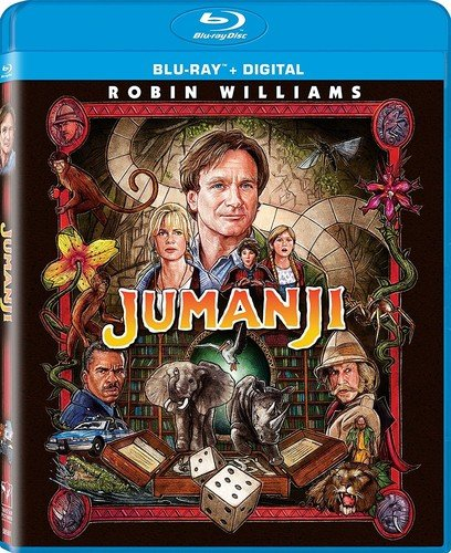 - Jumanji (Remastered Blu-ray + Digital)