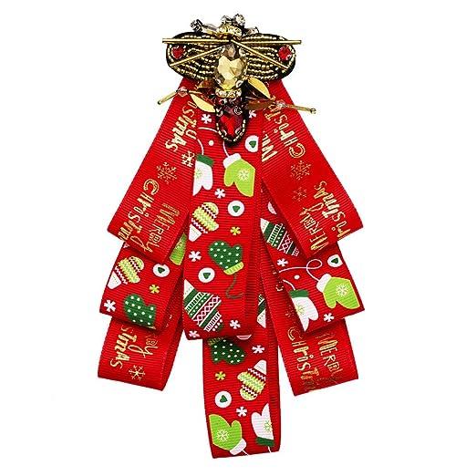 Neckchiefs Pajarita de Las Mujeres Corbata de Navidad del Bowknot ...