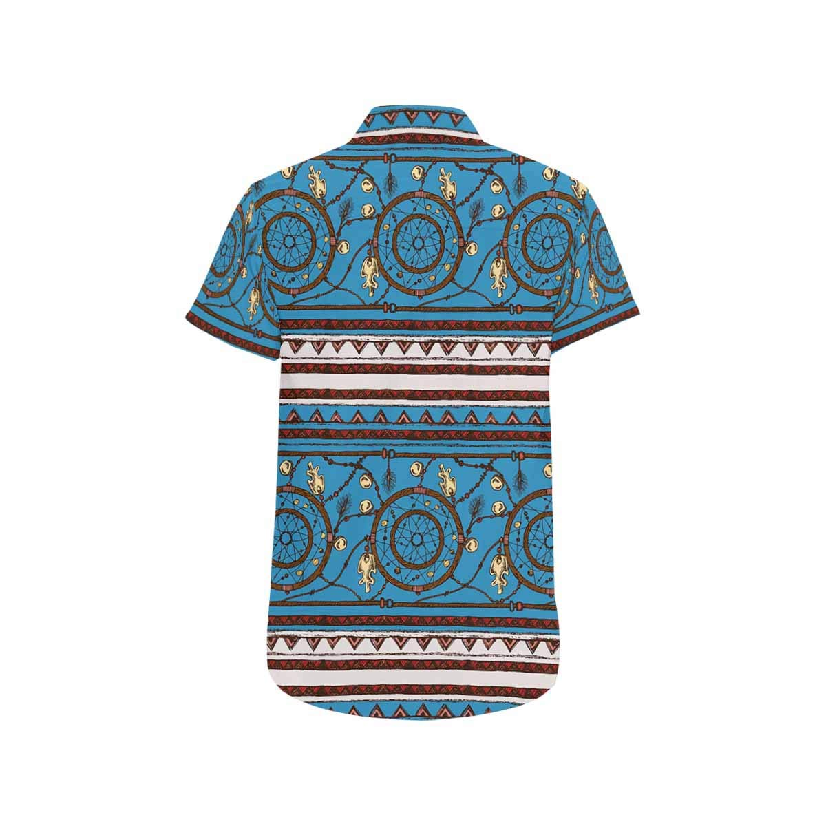 InterestPrint Regular Fit Shirts Dream Catcher Aztec Shirt